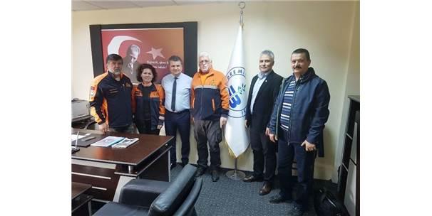 Mag İle Edremit Trac Şubesinden Edremit Belediyesini Ziyaret
