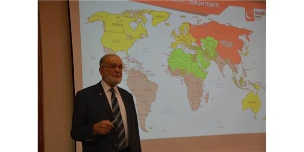 Sp Genel Başkanı Karamollaoğlu, Balıkesir'de Partililerle Buluştu