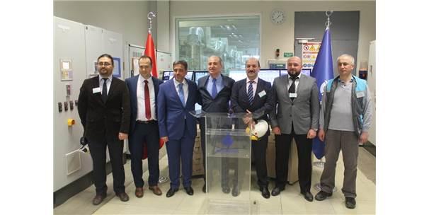 İbb Başkanı Mevlüt Uysal, Çöp Gazından Elektrik Üretimi Yapan Santrali Ziyaret Etti