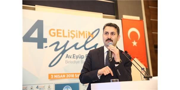 Başkan Eroğlu, 4 Yılda 61 Projeden 47'Sini Tamamladı