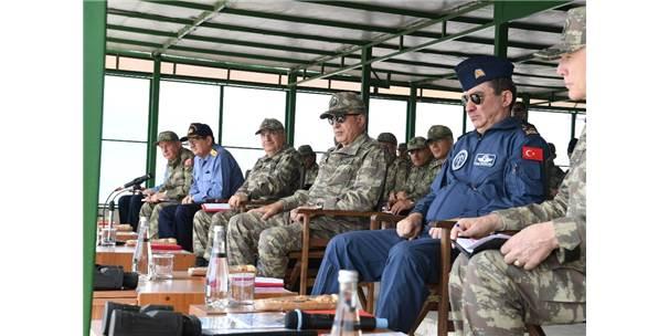 Orgeneral Akar, Ege Ordu Komutanlığında İncelemelerde Bulundu