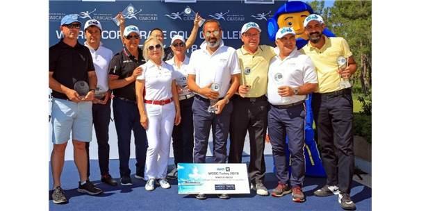 Dünya Kurumsal Golf Turnuvası 2018'İn Şampiyonları Belli Oldu