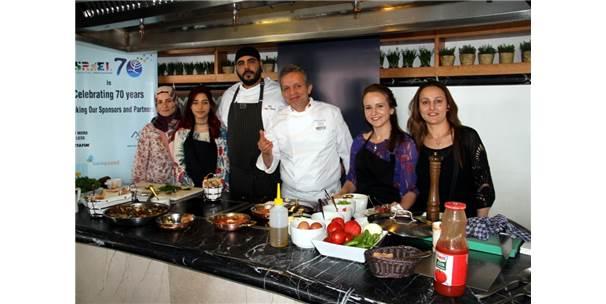 İsrailli Şef Aşçı İle Türk Şef Aşçı Bir Araya Geldi