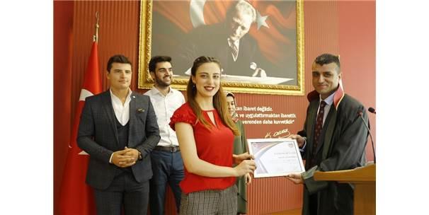 Kurgusal Duruşma Yarışmasına Katılan Stajyer Avukatlara Belge