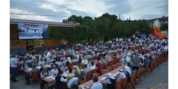 Başkan Çerçi Vatandaşlarla Birlikte İftar Yaptı