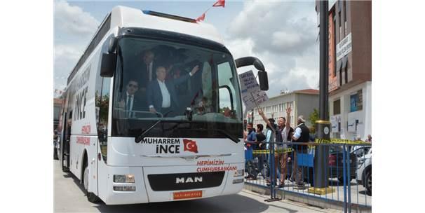 Chp'nin Cumhurbaşkanı Adayı İnce Kırşehir'de