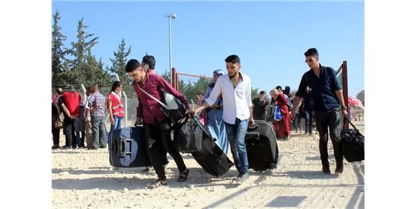 Ramazan Bayramı İçin Ülkesine Giden Suriyelilerin Sayısı 40 Bini Aştı