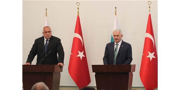 Başbakan Yıldırım İle Bulgaristan Başbakanı Borisov'dan Ortak Açıklama
