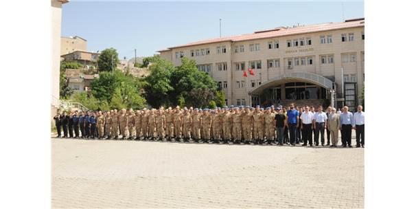 Şırnak'ta Jandarmanın 179'Uncu Kuruluş Yıldönümü Kutlaması