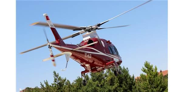Yaylada Yaralanan Epilepsi Hastası Helikopterle Taşındı