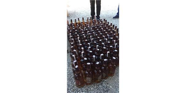 Fethiye'de Sahte İçki Operasyonu