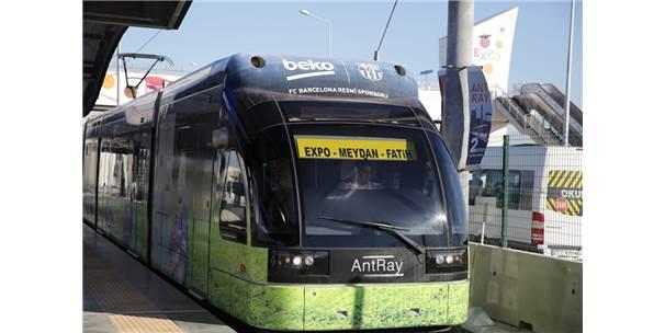 Antalya'da Bayramda Bayramda Toplu Ulaşım Ücretsiz