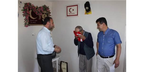 Çaycuma'da Şehit Aileleri Ziyaret Edildi