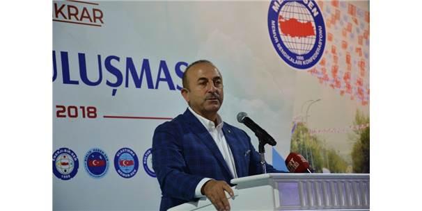 """Bakan Çavuşoğlu: """"Fetö, Benim Bakanlığımı Da Tahrip Etti"""""""