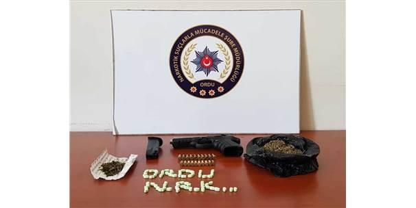 Ordu Merkezli İki İldeki Uyuşturucu Operasyonu