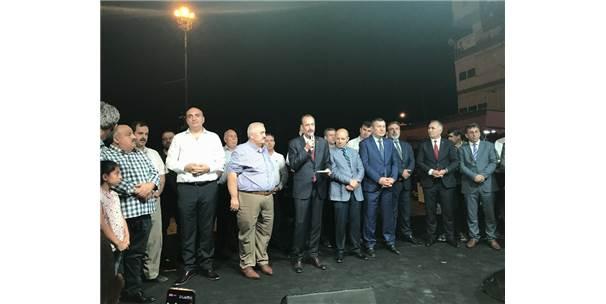Mhp'li Osmanağaoğlu Erzurumlular İle Bir Araya Geldi
