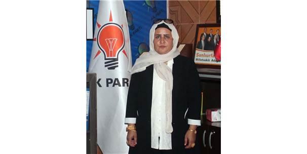 Ak Parti Harran İlçe Kadın Kolları Başkanı Biter: