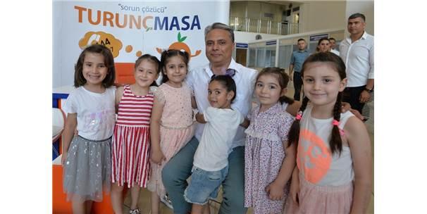 Başkan Uysal, Kreş Öğrencileriyle Bayramlaştı