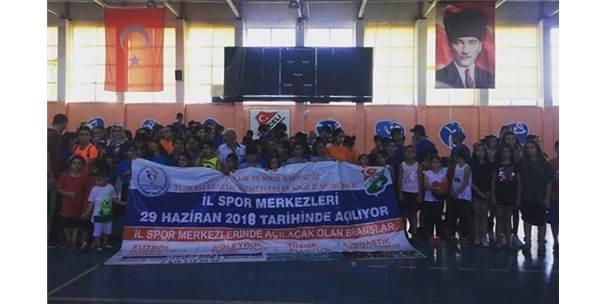 Tunceli'de Yaz Spor Okulları Açıldı