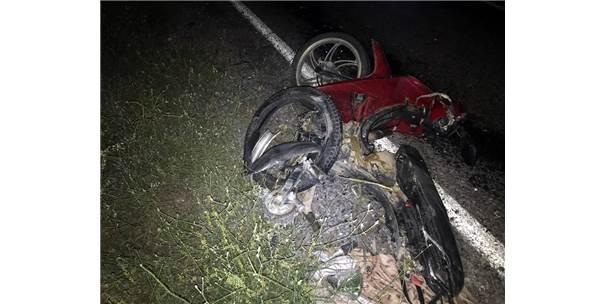 Yol Kenarında Yaralı Bulunan Motosiklet Sürücüsü Öldü