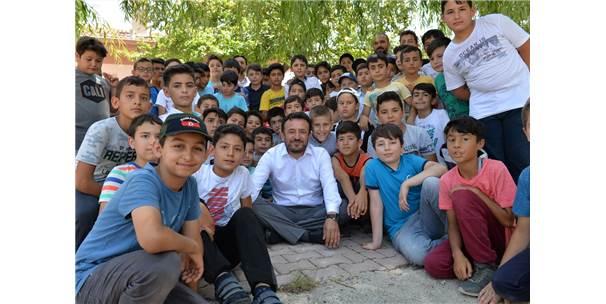 Çumra'da Kur'an Kursu Öğrencilerine Özel Piknik