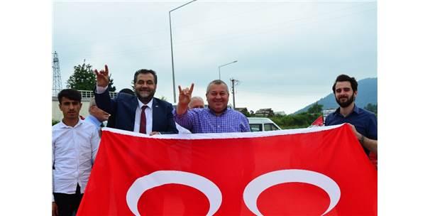 """Mhp Ordu Milletvekili Cemal Enginyurt: """"Verdiğimiz Sözleri Yerine Getireceğiz"""""""