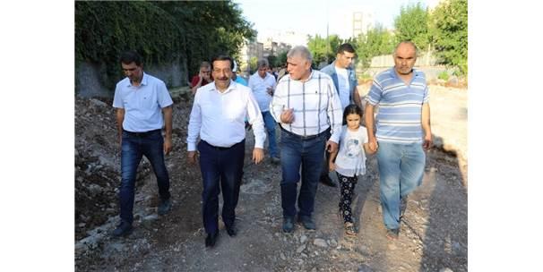 Başkan Atilla, Çalışmaları Denetledi