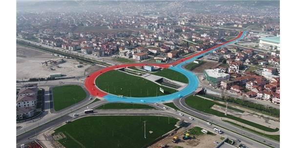 Sakarya'da Cadde Yenileme Çalışmaları Sürüyor