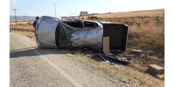 Meteoroloji İstasyon Ölçümüne Giden Ekip Kaza Yaptı: 1 Ölü, 3 Yaralı