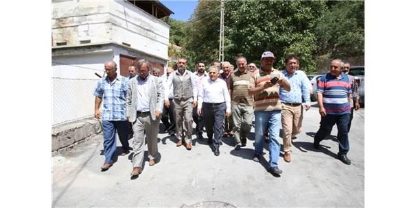 Güzelköy'de Damla Sulama İle Tarımda Verimlilik Artacak