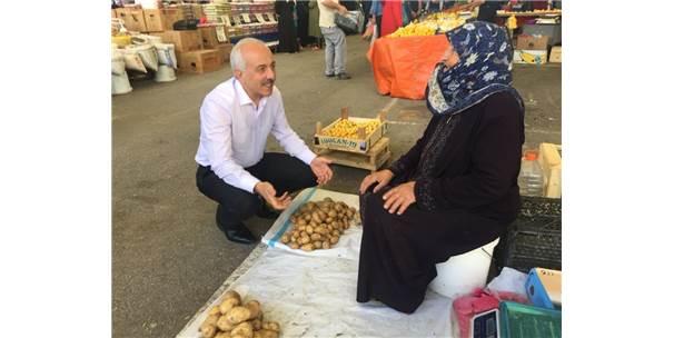 Başkan Gül'den Perşembe Pazarına Ziyaret