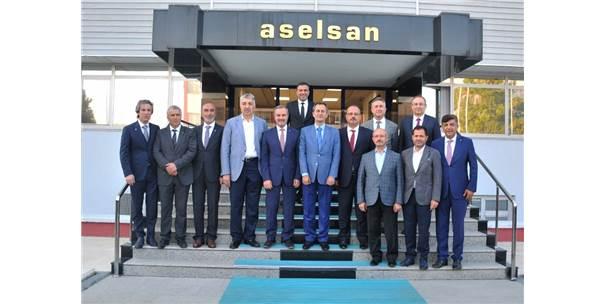 Konya Heyeti Aselsan'da