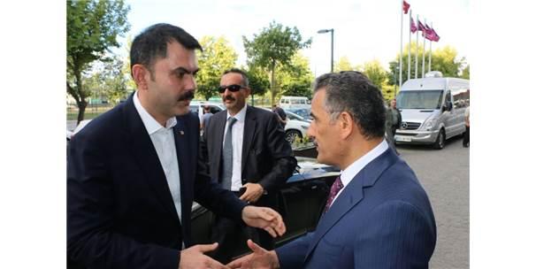 Çevre Ve Şehircilik Bakanı Kurum Samsun'da