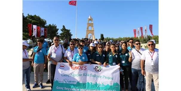 """Vanlı 105 Genç 'Genç Ağaçlar Kök Salıyor Projesi"""" Kapsamında Uğurlandı"""