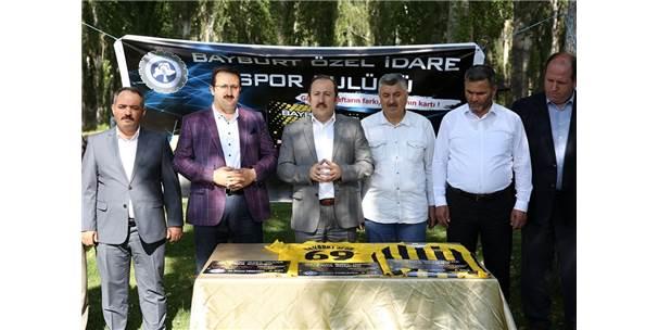 """Vali Pehlivan'dan Bayburtspor İçin Çağrı: """"Bu Takıma Hep Birlikte Sahip Çıkalım"""""""