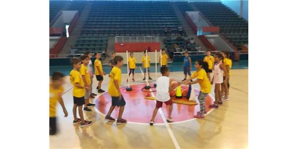 Sportif  Yetenek Taraması Ve Spora Yönlendirme Projesi Devam Ediyor