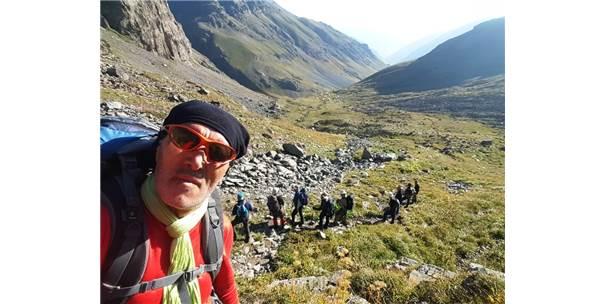 Hakkari Cisad Üyeleri 3932 Rakımlı Kaçkar Dağına Tırmandılar