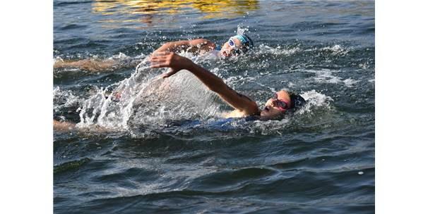 16. Eğirdir Triatlonu Başladı
