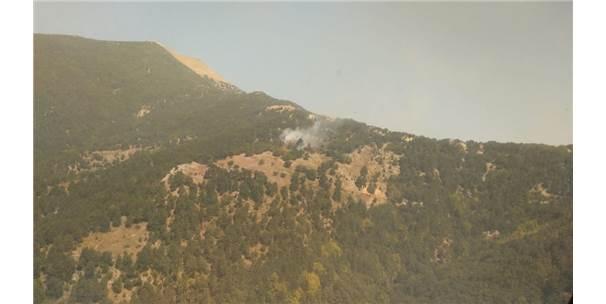 Amanos Dağları'nda Yangın