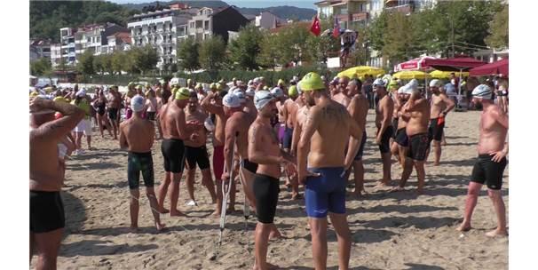 """Amasra """"Uluslararası Açık Su Yüzme Maratonu"""""""