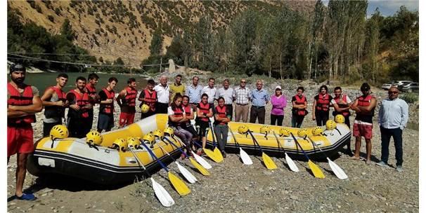 Cilo Rafting Takımı, Türkiye Şampiyonasına Hazırlanıyor