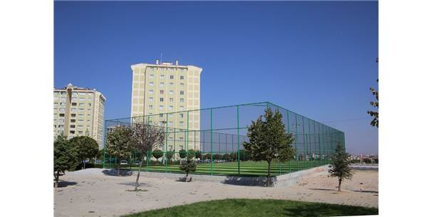 Karaman'da 7 Semt Spor Sahası Daha Hizmete Giriyor