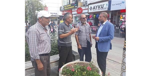 "Milletvekili Ahmet Tan: ""Halkın Tek Umudu Ak Parti"""