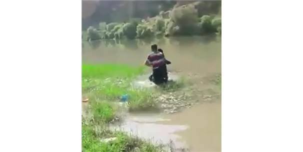 Zorla Evlendirilmek İstendiği İddiasıyla Dicle Nehri'nde İntihar Etmeye Çalışan Genç Kız Kurtarıldı