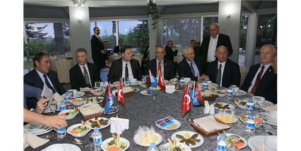 Tff Başkanı Demirören'den Trabzonspor'a Ziyaret