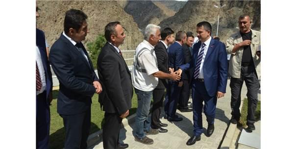 Bakanlar Turhan Ve Pakdemirli Sular Altında Kalacak Yusufeli'nde İncelemelerde Bulundu
