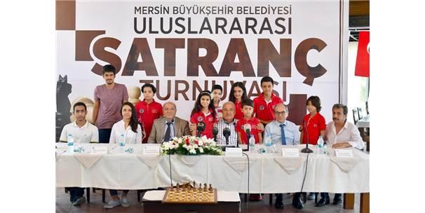Uluslararası Mersin Satranç Turnuvası Yarın Başlıyor
