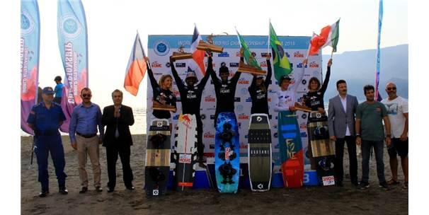 Kiteboard Dünya Şampiyonasının Türkiye Ayağı Tamamlandı