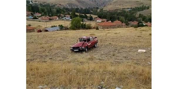 Sungurlu'da Otomobil Takla Attı: 3 Yaralı