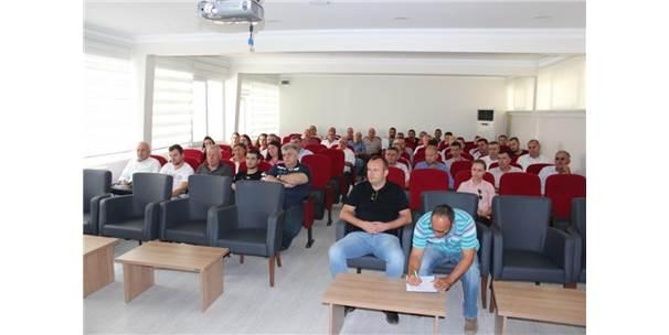 Kırklareli'de Bitki Koruma Ürünleri Toplantısı Yapıldı